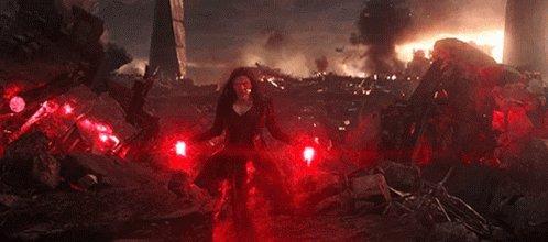 Happy Birthday to Scarlet Witch herself, Ms. Elizabeth Olsen