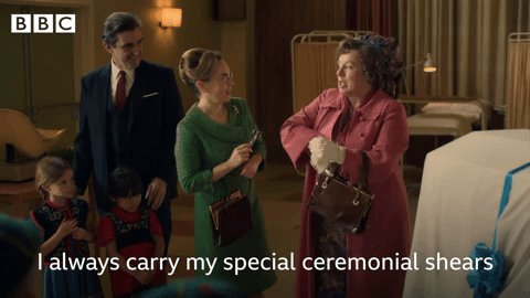 We all have a friend who carries everything in their handbag #CallTheMidwife