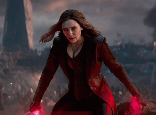 Happy Birthday to Scarlet Witch herself Elizabeth Olsen!