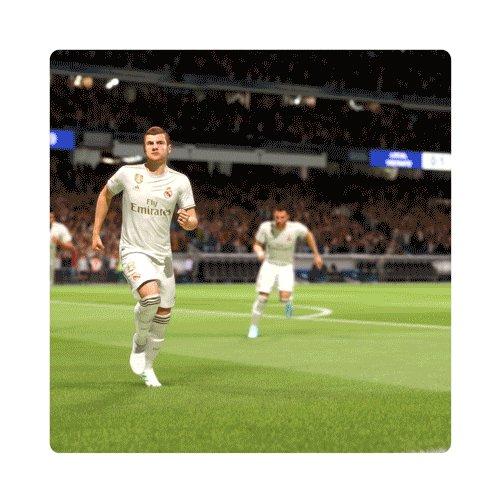 52分 | 1-1 | GOOOOOOOOOOOOOOOOOL  トニ・クロース @ToniKroos!  #RealMadridCelta | #FIFA20