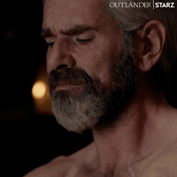 Both us and Murtagh are the human encapsulation of 🥺 right now. #Outlander