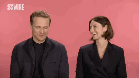 Our hearts are full. @SamHeughan @caitrionambalfe #Outlander