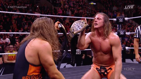 Cheers to your NEW NXT Tag Team Champions, The #BroserWeights!!!!@SuperKingofBros @PeteDunneYxB