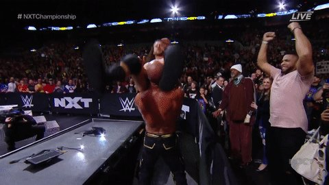 ANYTHING FOR GOLDIE.@NXTCiampa #NXTTakeOver #NXTChampionship
