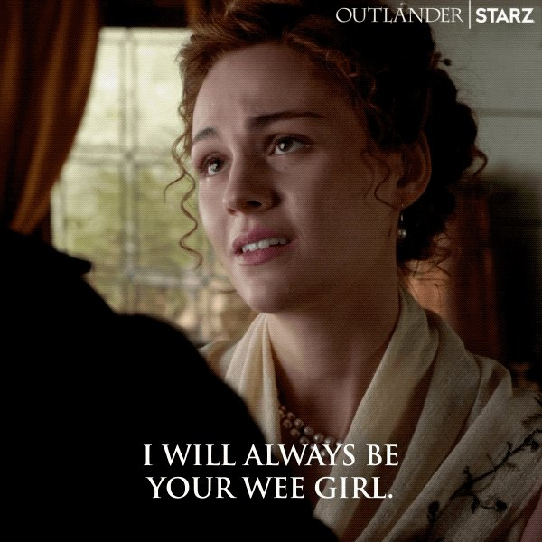 Dying over all the Big Ginge/Little Ginge sweetness right now. #Outlander