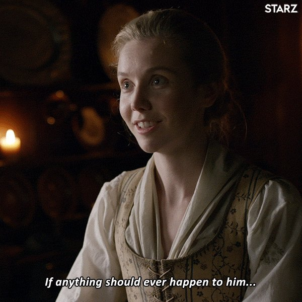 Day 2 sharing our favorite #MarsaliMoments from #Outlander books 📚 or show. Today show your #MarsaliFraser as mum moments. She wanted to postpone motherhood a bit but now she's in deep.