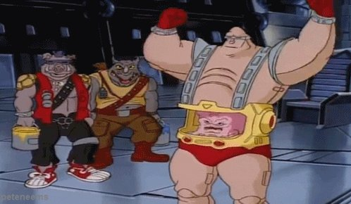 It's decided! If I ever get a tattoo it's absolutely gonna be Krang on my stomach