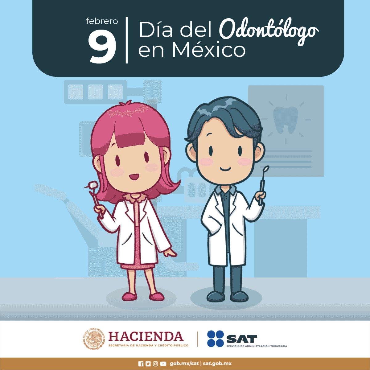 Hoy en el #DíaDelOdontólogo 👩⚕️👨⚕️, #EmiteFactura a tus pacientes.Utiliza nuestra herramienta de facturación gratuita, ¡Es muy fácil! ✅http://bit.ly/EmiteFactura