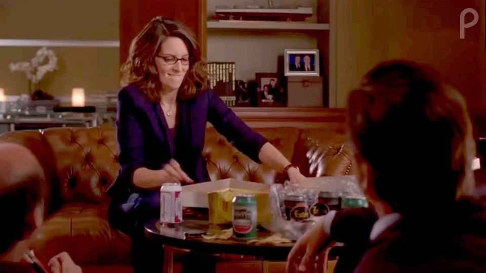 Here's hoping that someone loves you the way Liz Lemon loves pizza. #NationalPizzaDay #30Rock #Streaming2020