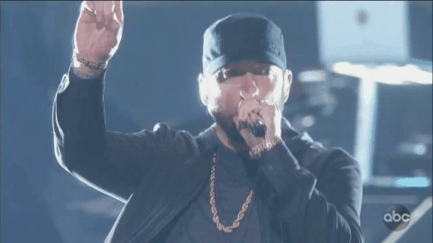 Quick reminder that Eminem is an Oscar winner.#Oscars