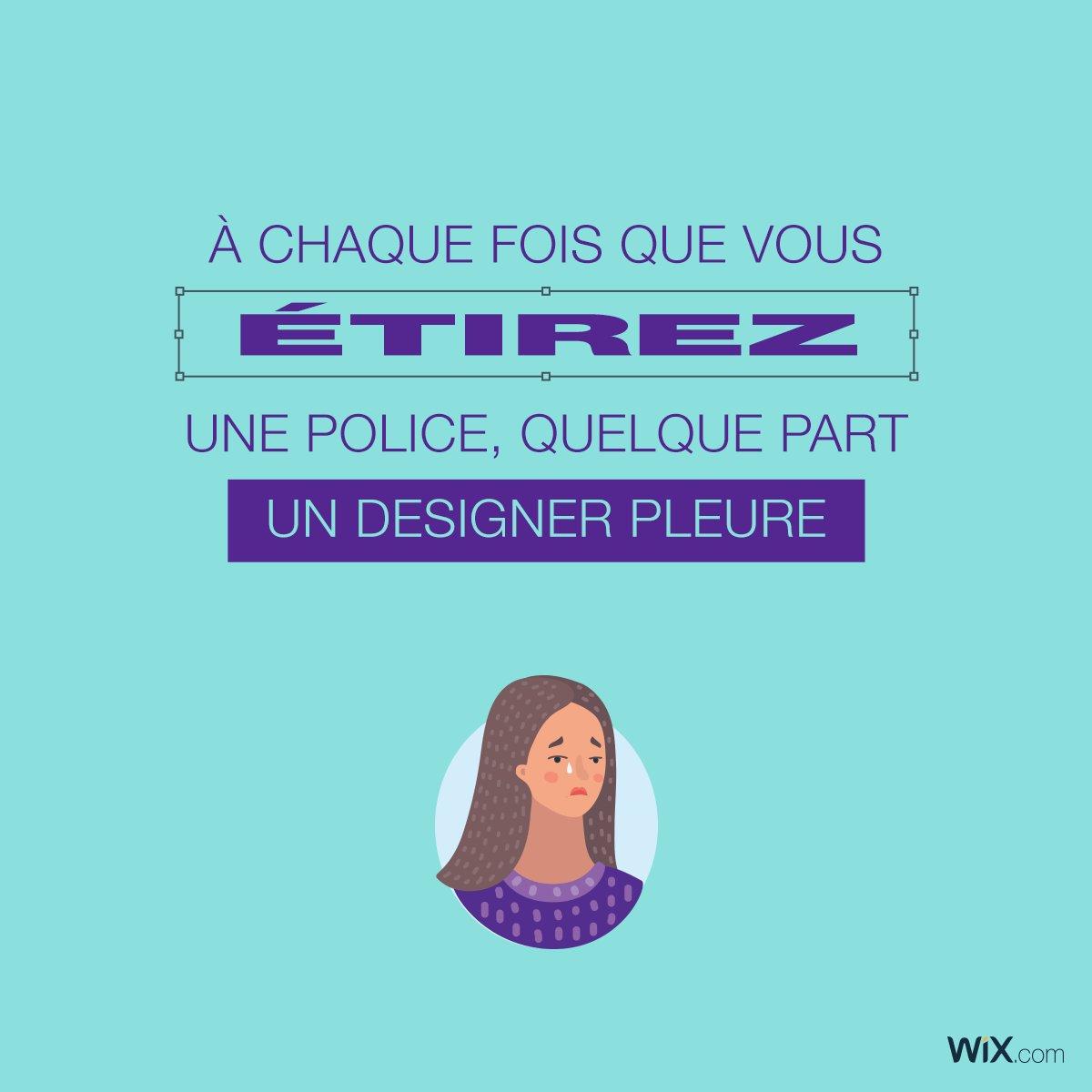 Sauvons les designers, ne touchons pas aux polices de caractères !  #WebDesign #Typographie