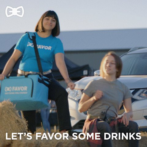 GIF says it all 💙🍾 #BestDateIn4Words