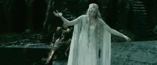 Threw my back out trying to dab. I will diminish and go into the West and remain Galadriel.