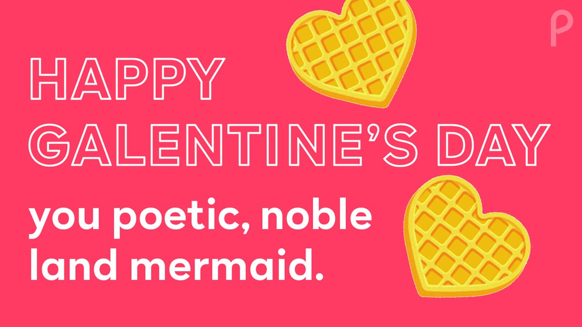 Who is the syrup to your waffle? Share this card with the Ann Perkins in your life! #GalentinesDay