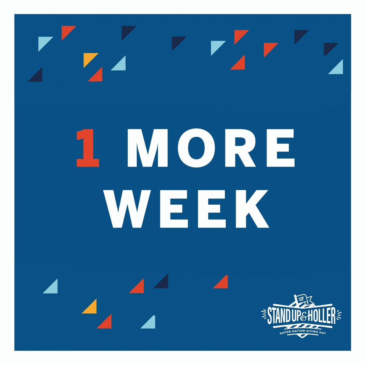 One more week until it's #AllForCJC. 🗣️