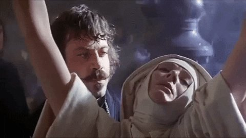 """Happy birthday to Oliver Reed (1938-1999) ---- \""""The Devils\"""" (1971) Dir. Ken Russell"""