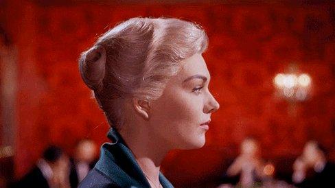 "Happy birthday to Kim Novak --- \""Vertigo\"" (1958) Dir. Alfred Hitchcock"