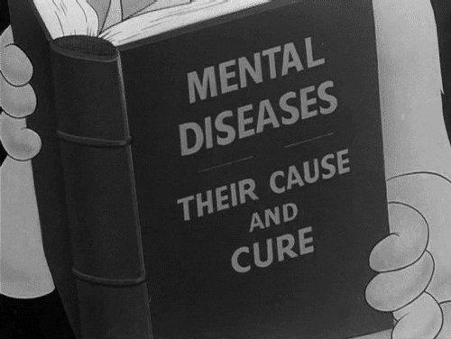You've got a sick mentality