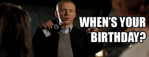 Happy Simon Pegg Birthday Awareness day (born Feb. 14 1970)  and also Happy Valentines Day