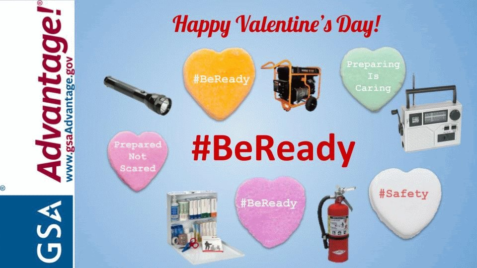 You can't buy love on https://t.co/mt6ffV9bgS, but government agencies can buy emergency radios, flashlights, first aid supplies, and other emergency preparedness supplies! #PreparingIsCaring #BeReady @ReadyGov #ValentinesDay2020