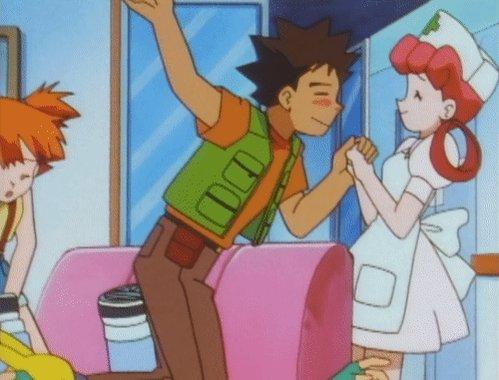 Brock: 😍😍😍 Nurse Joy: [read 12:02 PM]