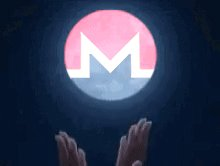 Image for the Tweet beginning: We here on the Monero