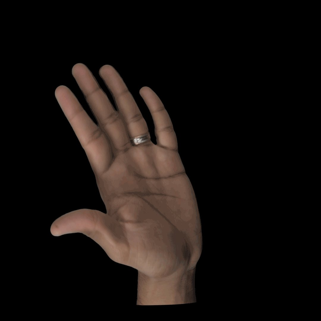 hand waving gif - HD1080×1080