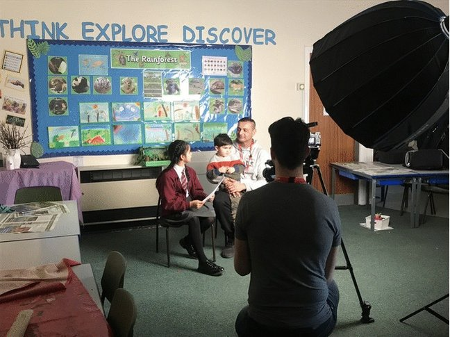 Spoiler alert! Our Year 4 Rainforest Workshop was filmed for a new video to show everyone the amazing things we do in school. Some of the children quizzed their parent or grandparent(s) to see what they know about our rainforests. Here's a sneak preview... #Year4 #ParentWorkshop