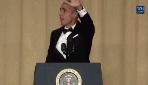 @realDonaldTrump Greatest President ever. #PresidentObama  Now there is a #CarnivalBarkingClown in the WH  Love that Obama