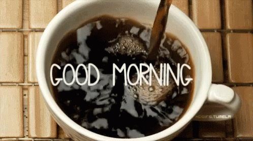 Good morning kids. ☕️🌞 Happy Tuesday aka Monday Lite. May your coffee be strong and plentiful and your day be amazing . Let's do this and remember to always #BeKind.