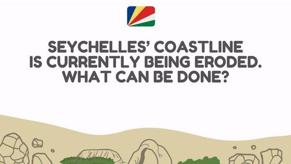 🐚Seashells by the seashore? No.  🇸🇨 Seychelles and their eroding shoreline.  What can be done? @Ede_WBG & @BrendenJongman discuss: http://wrld.bg/7mvb50ypMkV #ClimateChange #SmallStates
