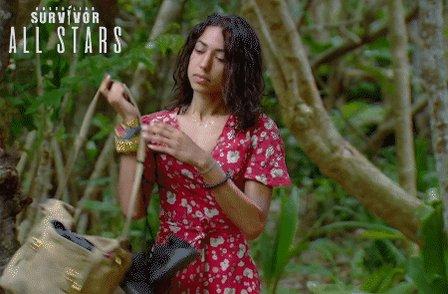 Loving the dress, @brooke_survivor...where'd you get it? 💃 #SurvivorAU