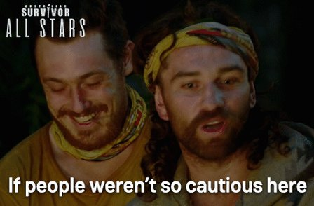 Johnny is coming out with some absolute 🔥 tonight #SurvivorAU