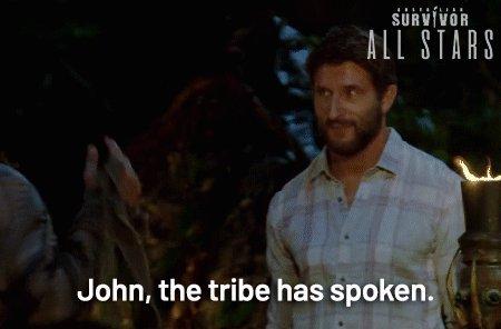 Here's to Johnny...he's true blue 🔥 #SurvivorAU