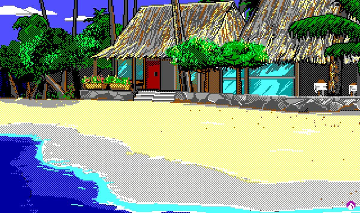 Codename: ICEMAN, Sierra On-Line (1990)> Picture #002 (Drawing Timelapse) by Cheryl Loyd, Jim Larsen, Jerry MooreHD video: https://www.youtube.com/watch?v=ek36wuS2GbM&list=PL7u9xCop5aLuuZy9OM6xl8U0ssVlT_hdC…#CodenameICEMAN #JohnnyWestland #SierraOnLine #Sierra #SCI #PixelArt #RetroGaming #AdventureGame
