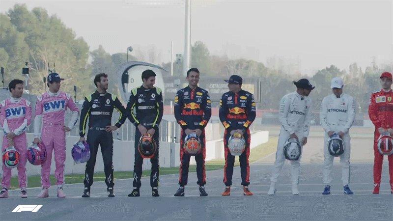 Rivalries resumed 🤝  #F1 #F1Testing