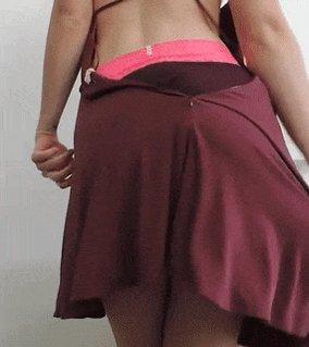 My fat ass in panties, thongs