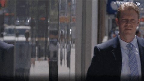 I caught some footage of Bloomberg leaving the debate
