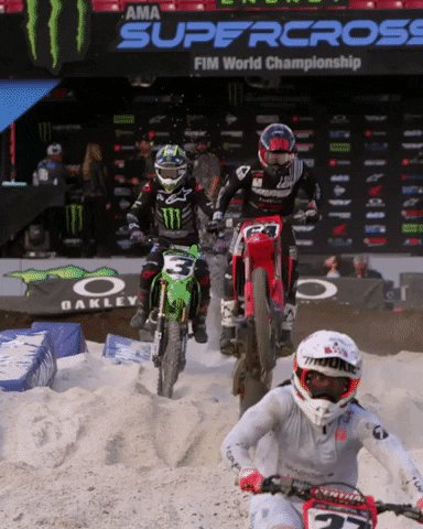 This sh** ain't easy 😳 📼➡️ youtu.be/2MNdYGtTP5U #MonsterEnergy | @SupercrossLIVE