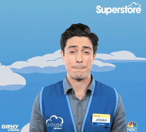 Jonah you DIDN'T. #Superstore