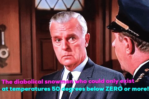 #911WhatsTheEmergency It's too cold even for Mr. Freeze! 🧊 ⛄️ 🧊