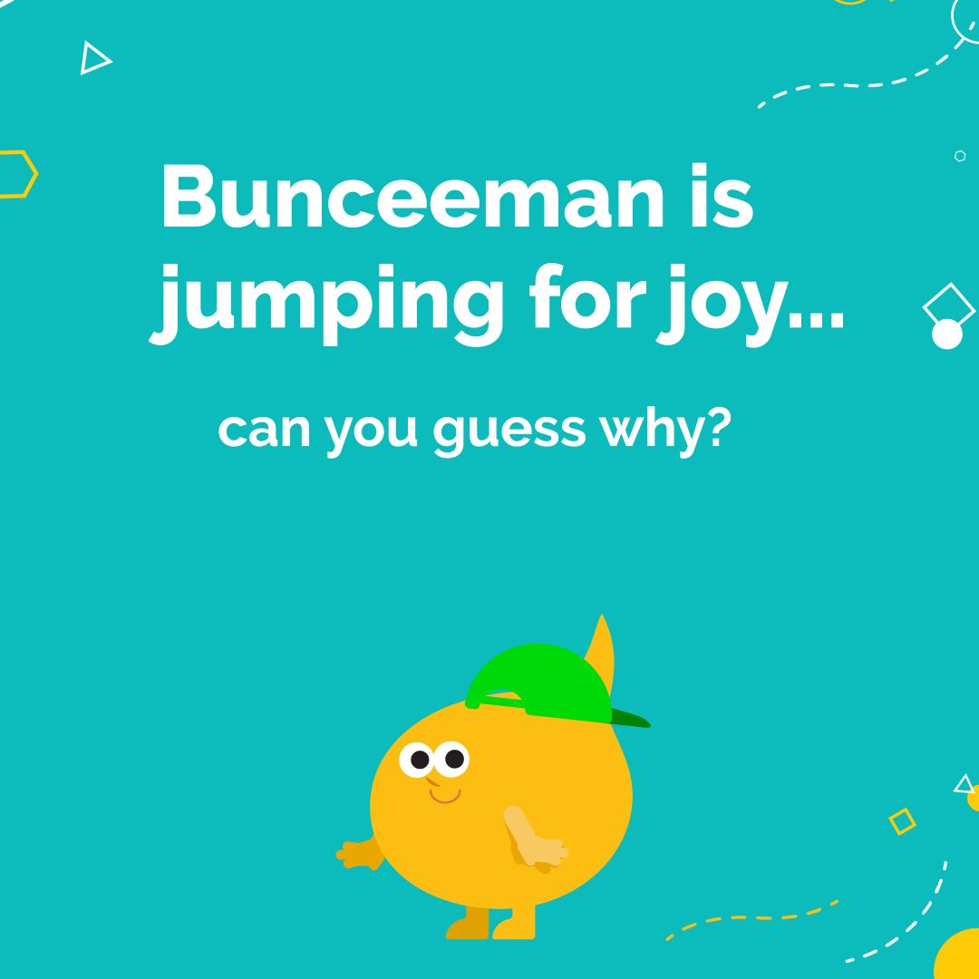 Bunceeman is flipping out over our upcoming surprise! 😄🤫 🤔 Could you guess what it is? 🤔
