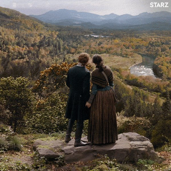 It's crazy how much better the week goes when you are looking forward to a new episode of #Outlander. Can't wait to get back to #FrasersRidge. @Outlander_STARZ