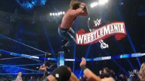 That spot looked brutal as fuck #SmackdownOnFox
