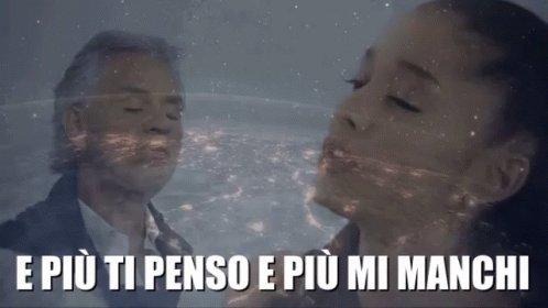 #FridayVibes @AndreaBocelli, @ArianaGrande - E Più Ti Penso (And more I think of you)  #AndreaBocelli #EPiuTiPenso #Italian #Tenor #Italian #OperaSinger #Pisa #LaSterza #ArianaGrande #Romantic #Song @mariejeancote