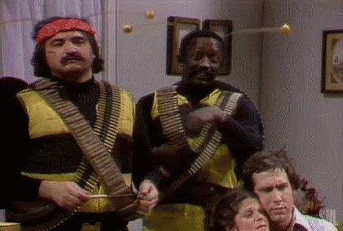 """This is what Trump sees in his mind when he hears """"Africanized"""" Bees! #Africanized #AfricanizedBees #KillerBees #SNL #SNLKillerBees #Trump #saturdaynight"""