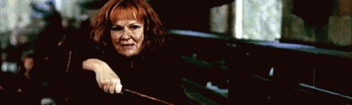 Happy Birthday Julie Walters! Thanks for helping to bring Molly Weasley to life for us!