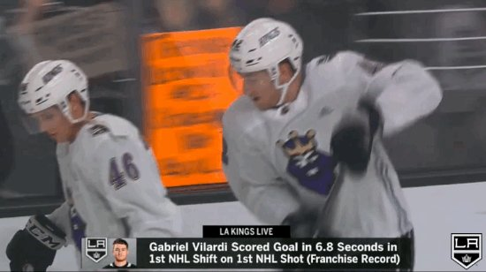 Replying to @LAKings: Gabriel Vilardi in that jersey tho 👀 #GoKingsGo