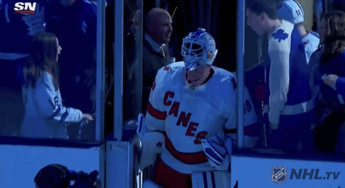 A 42-year-old filled in as an emergency NHL goalie. He got the win.