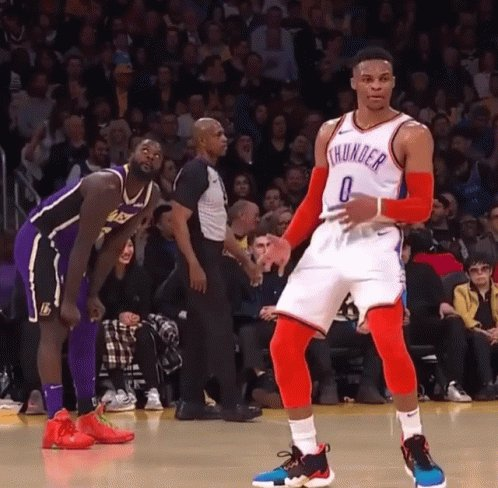 Daily reminder that Russell Westbrook is still the BEST pg in the league. #Rockets #Westbrook